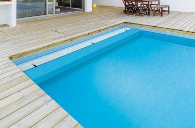 Le volet de piscine immergé Aby's plage