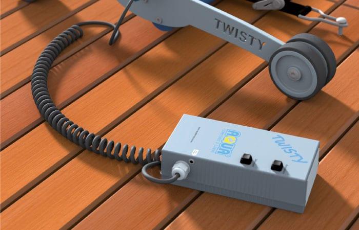 Le concept de motorisation Aquadiscount pour l'enroulement des bâches à barres